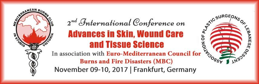 2nd International Conference On Advances In Skin Wound Care And Tissue Science November 9 10 2017 Frankfurt German Wound Care Regenerative Medicine Science