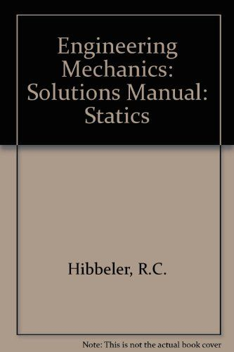 hibbeler statics 13th edition solutions manual grizzlybook us rh pinterest com hibbeler statics 13th edition solutions manual hibbeler statics 13th edition solutions manual pdf