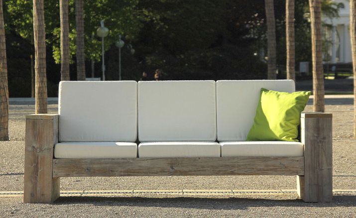 Lounge 3er Sofa Fur Innen Aussen 3er Sofa Lounge Mobel Lounge