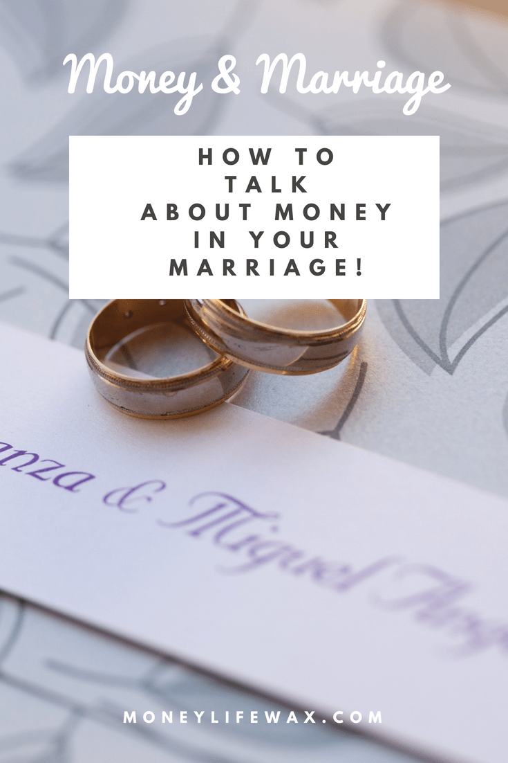 The Marriage Convo You Need to Have Money Life Wax