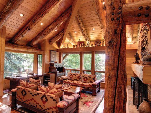 Amazing Log Cabin Home In Park City Utah Cabin Life My