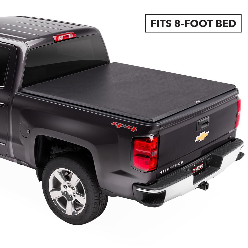 Truxedo Truxport Tonneau Cover 73 87 Gm Full Size C K 8 Bed 240601 The Home Depot In 2020 Tonneau Cover Chevy Accessories Truck Bed Covers