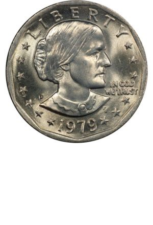 Susan B Anthony Dollaryears Made 1971 1978mint Marks