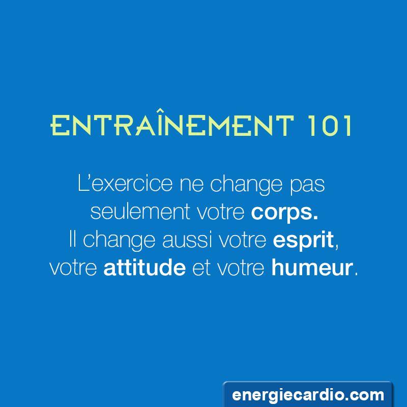 Connu Les bienfaits de l'entraînement! | Motivation | Pinterest  HP38