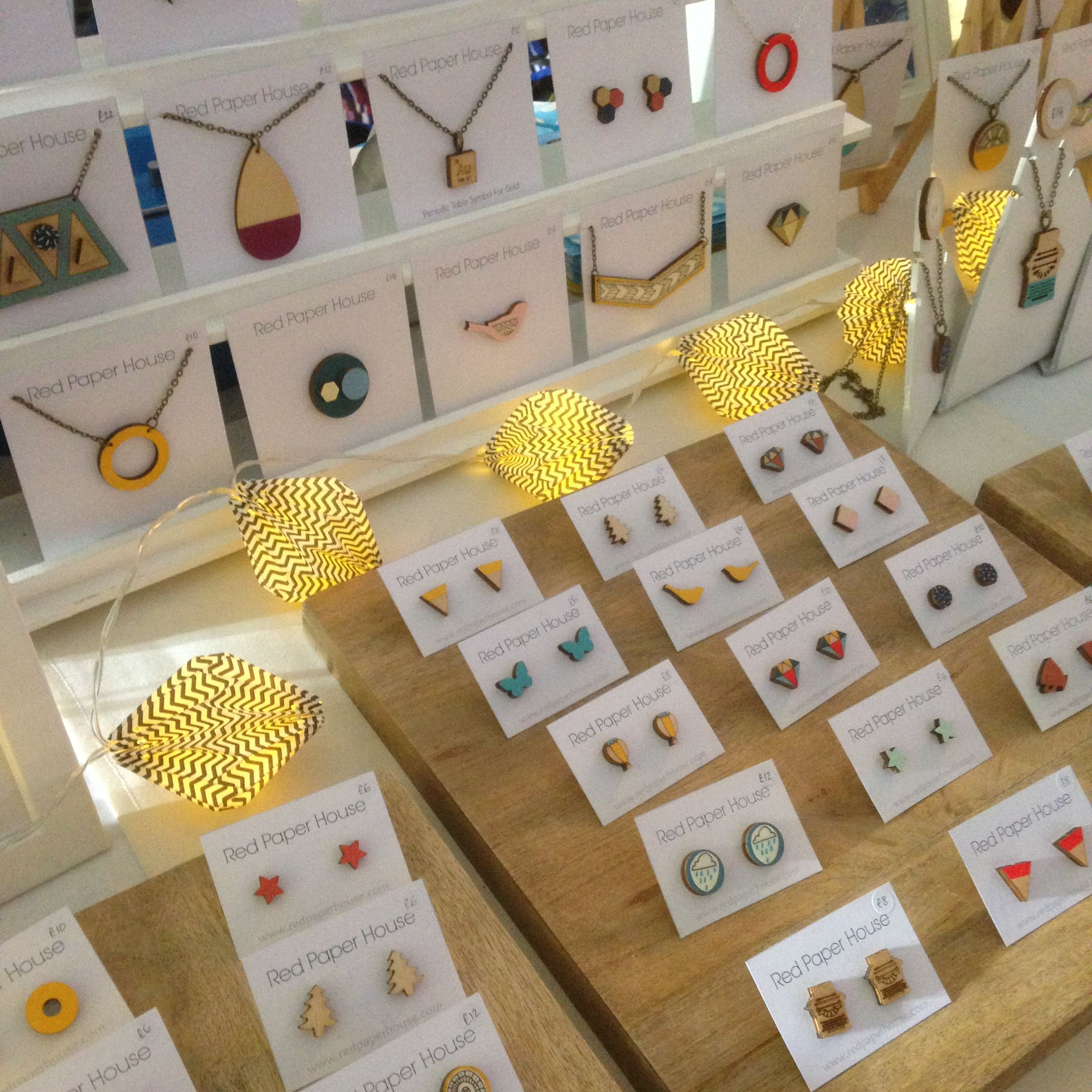 Pin by red paper house on red paper house craft fair displays craft fair displays shop displays paper houses craft fairs red paper jeuxipadfo Image collections