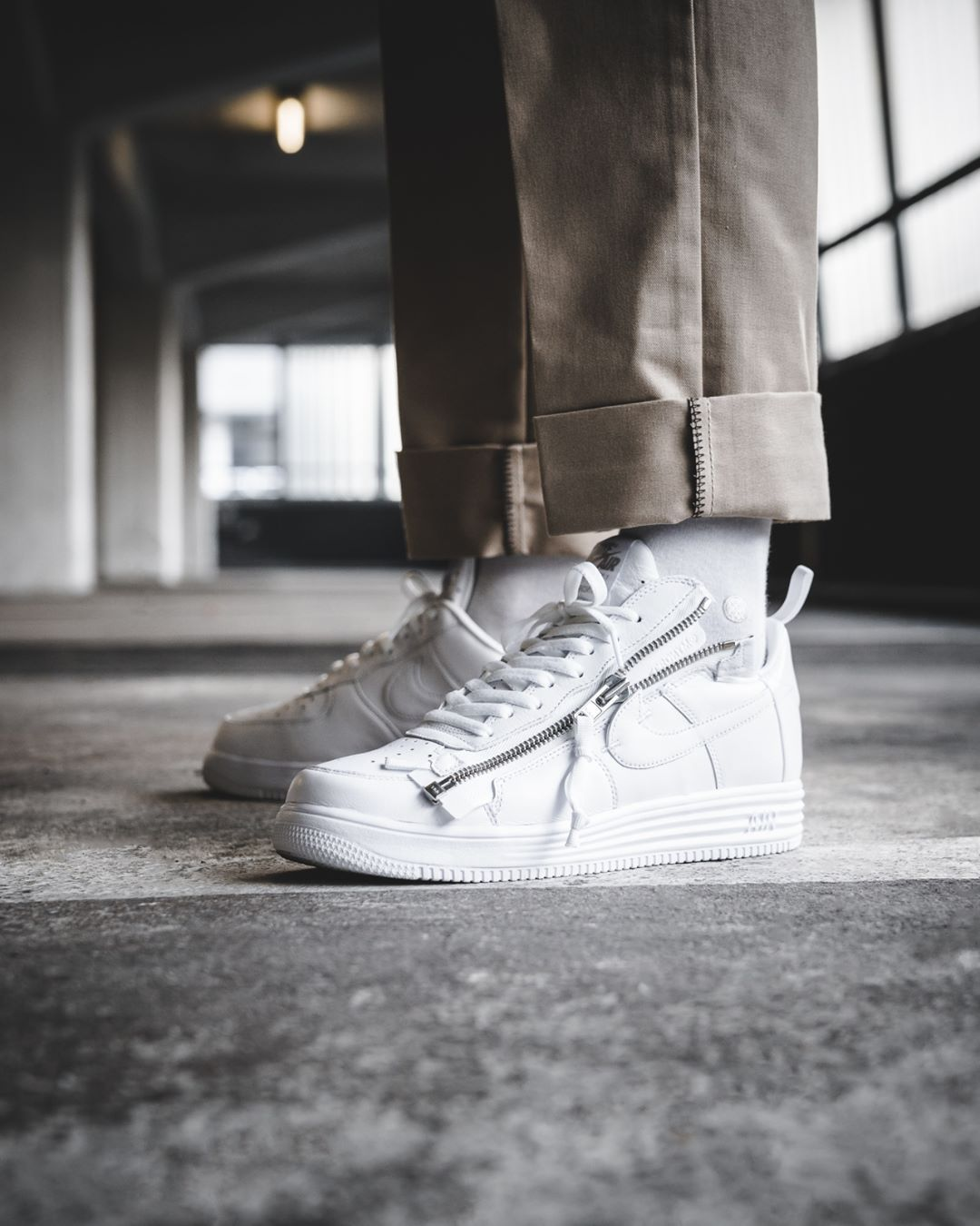 premium selection f15a1 b3791 ACRONYM x Nike Lunar Force 1