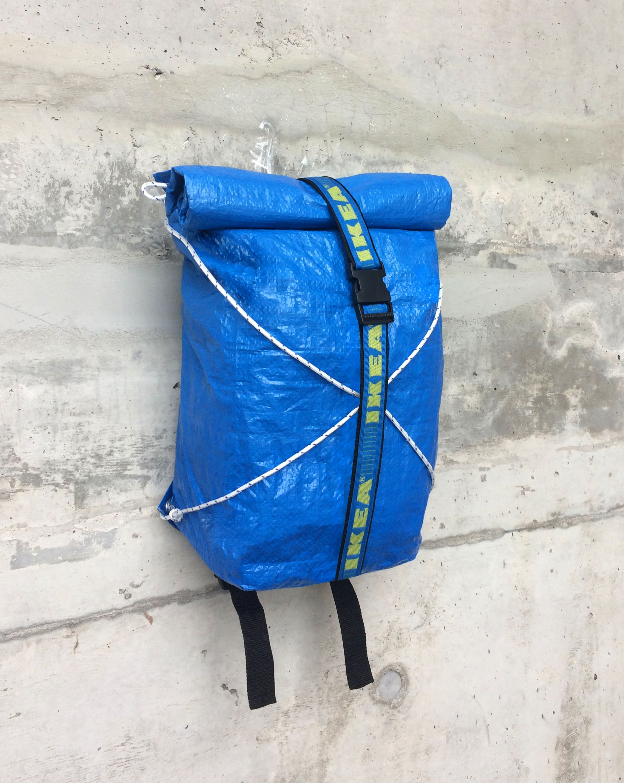 Frakta Backpack By Simon Langlois And Marie Christine Fortier Https Www Behance Net Simonlanglois Https Www Tasche Selbst Gestalten Blaue Tasche Diy Tasche