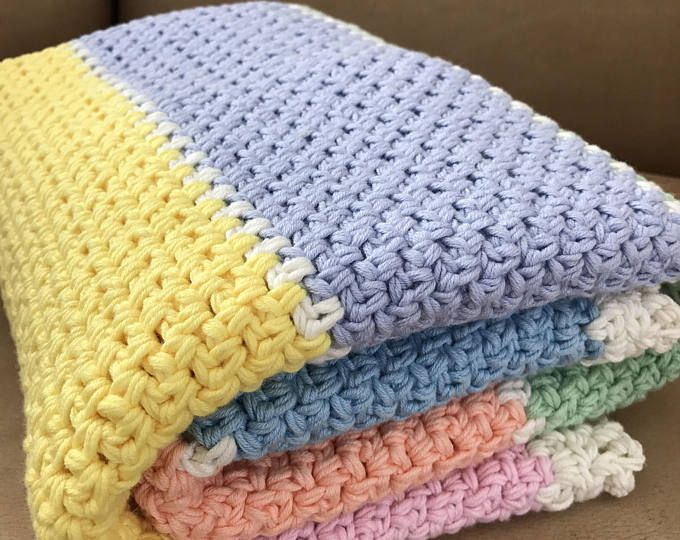 Crochet Baby Blanket Pattern - Chunky Crochet Baby Blanket - Easy ...