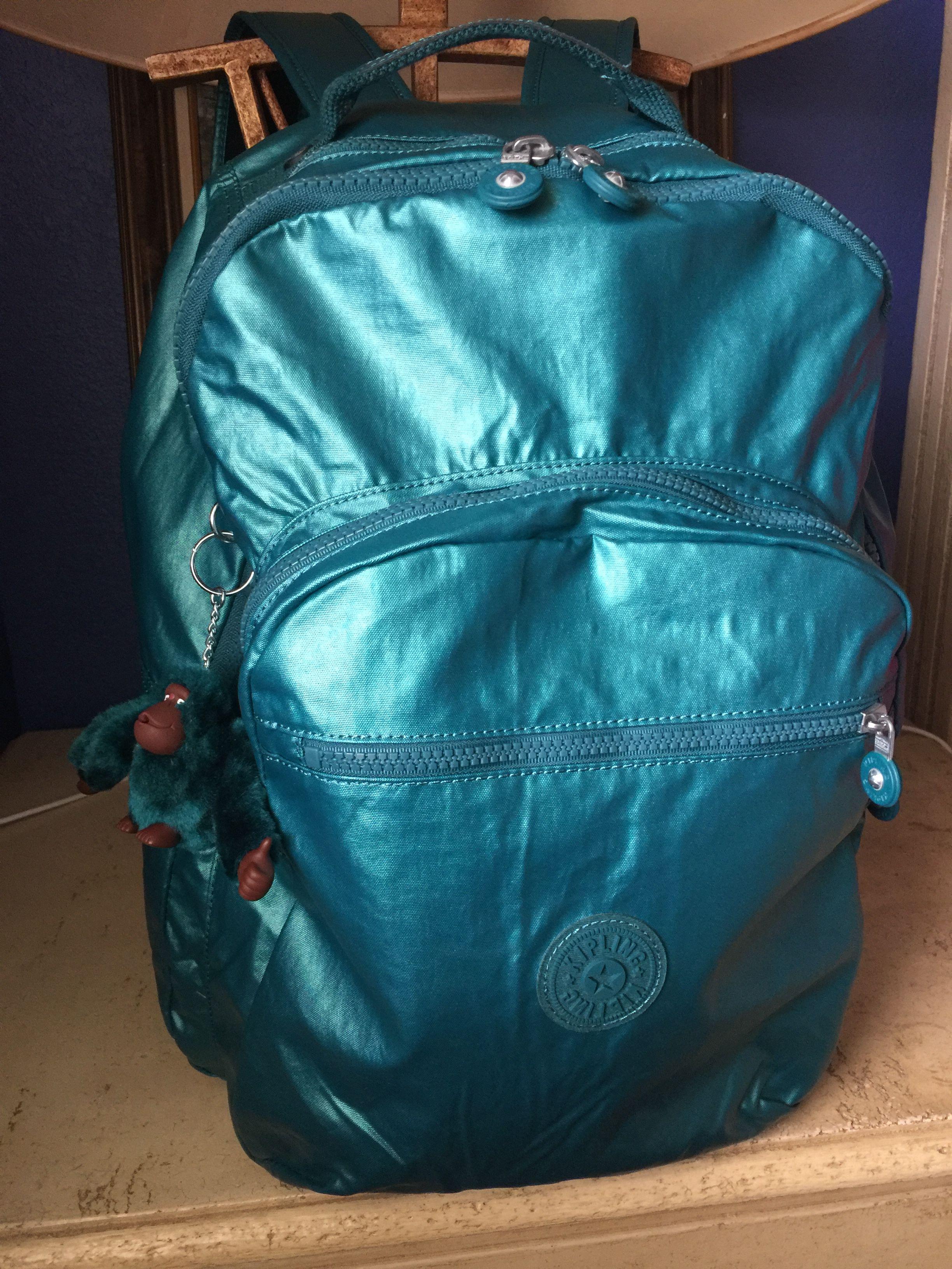 77eea4eb4de Kipling Seoul in Metal Emerald   Kipling Bags in 2019   Kipling bags ...