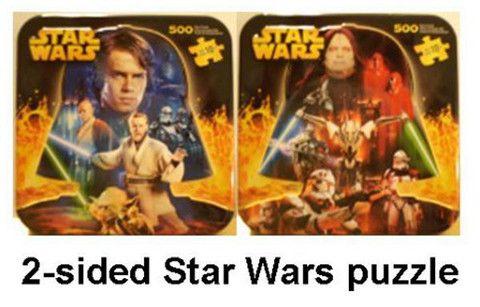 Star Wars Episode 3 500 Piece Puzzle Star Wars Puzzles Star War Episode 3 Star Wars Episodes