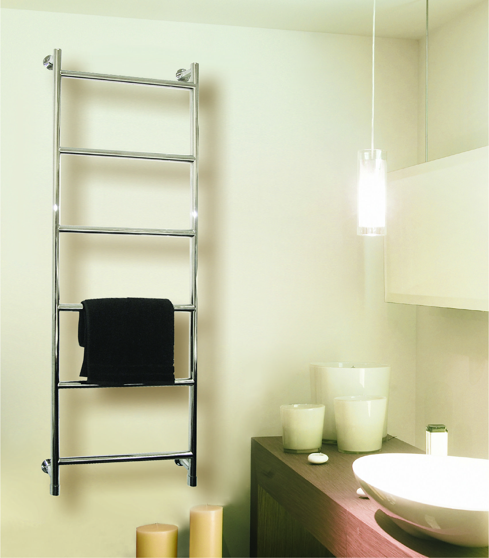 Introducing the Vogue Vivid Heated Towel Rail