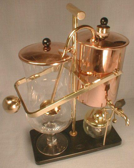 Retro Coffeemaker, Copper