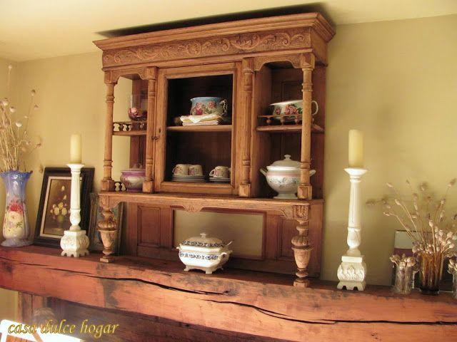 Asombroso Muebles De Cocina Lechada De Cal Antes Después Galería ...