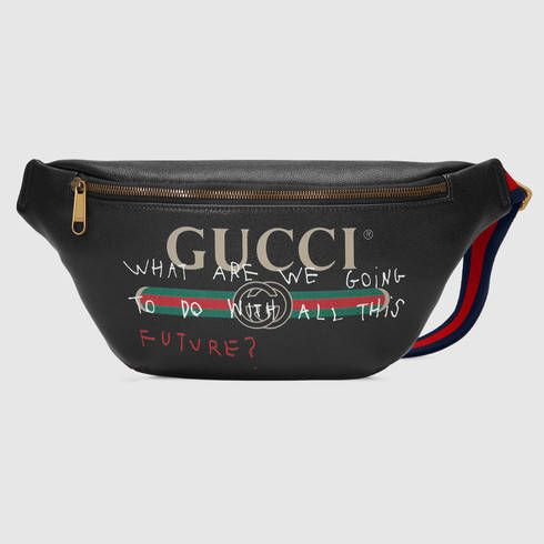 19cdedcd27a7 GUCCI Gucci Coco Capitán Logo Belt Bag. #gucci #bags #leather #belt bags #