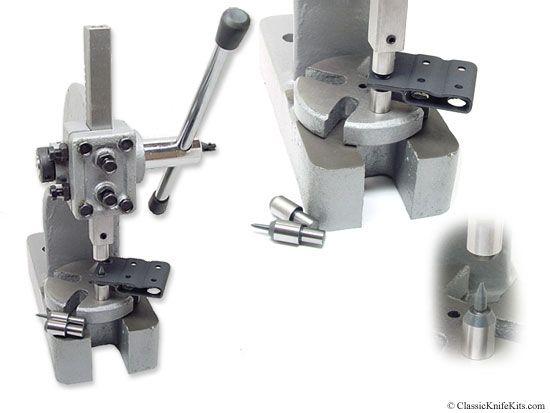 Ckk Rivet Eyelet Flaring Press Master Series For