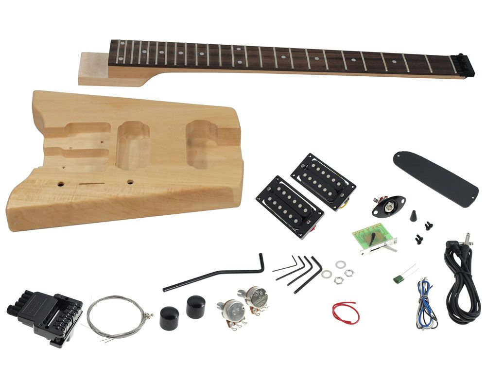 Solo Sbk 1 Diy Headless Electric Guitar Kit Solo Music Gear Guitar Kits Electric Guitar Kits Guitar