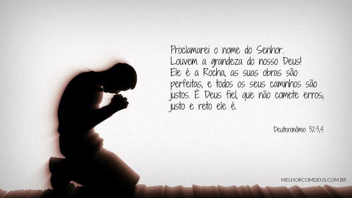 Proclamarei O Nome Do Senhor Louvem A Grandeza Do Nosso Deus