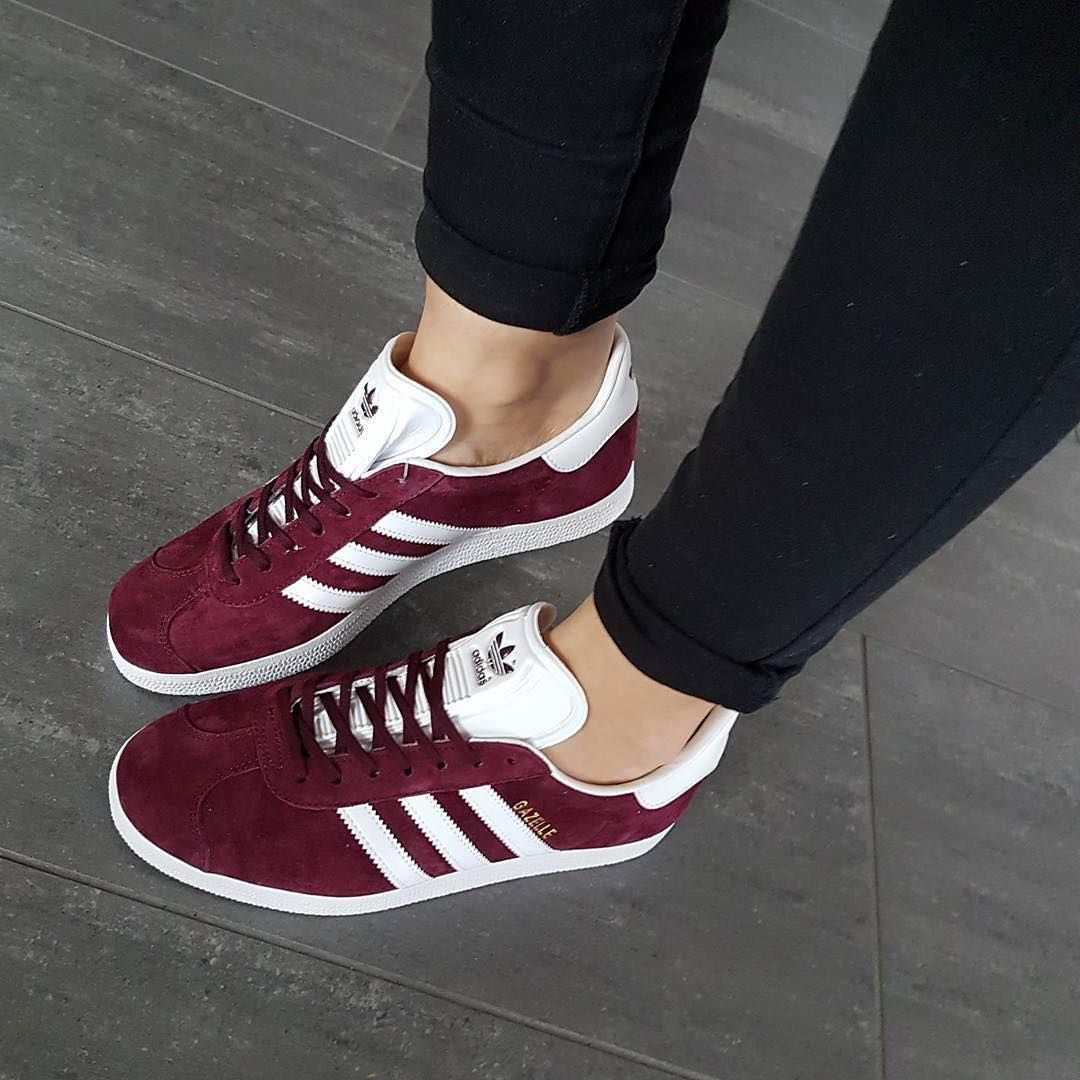 adidas gazelle dames bordeaux