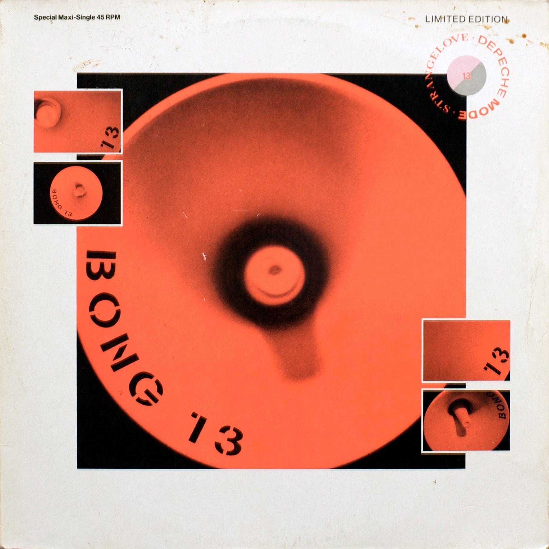 Strangelove Maxi Single Depeche Mode Cool Album Covers Music Album Art