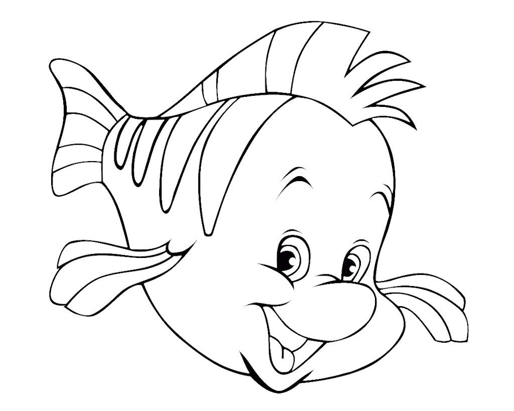 Cute Fish Coloring Pages For Kids | Kids Coloring Pages | Pinterest ...