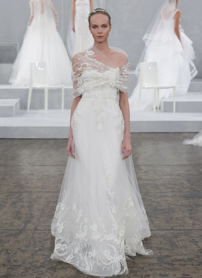 Módne šaty od Monique Lhuillier - KAMzaKRÁSOU.sk #kamzakrasou #krasa #love #holiday #wedding #dress #weddingdress #weddingday #weddingdecoration #weddingcelebration