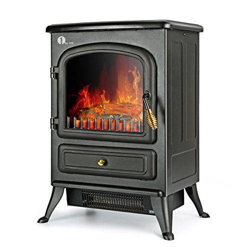 1byone Freestanding Electric Fireplace Portable Stove Hea Https Www Amazon Co Uk Dp B01 Electric Fireplace Heater Best Electric Fireplace Fireplace Heater