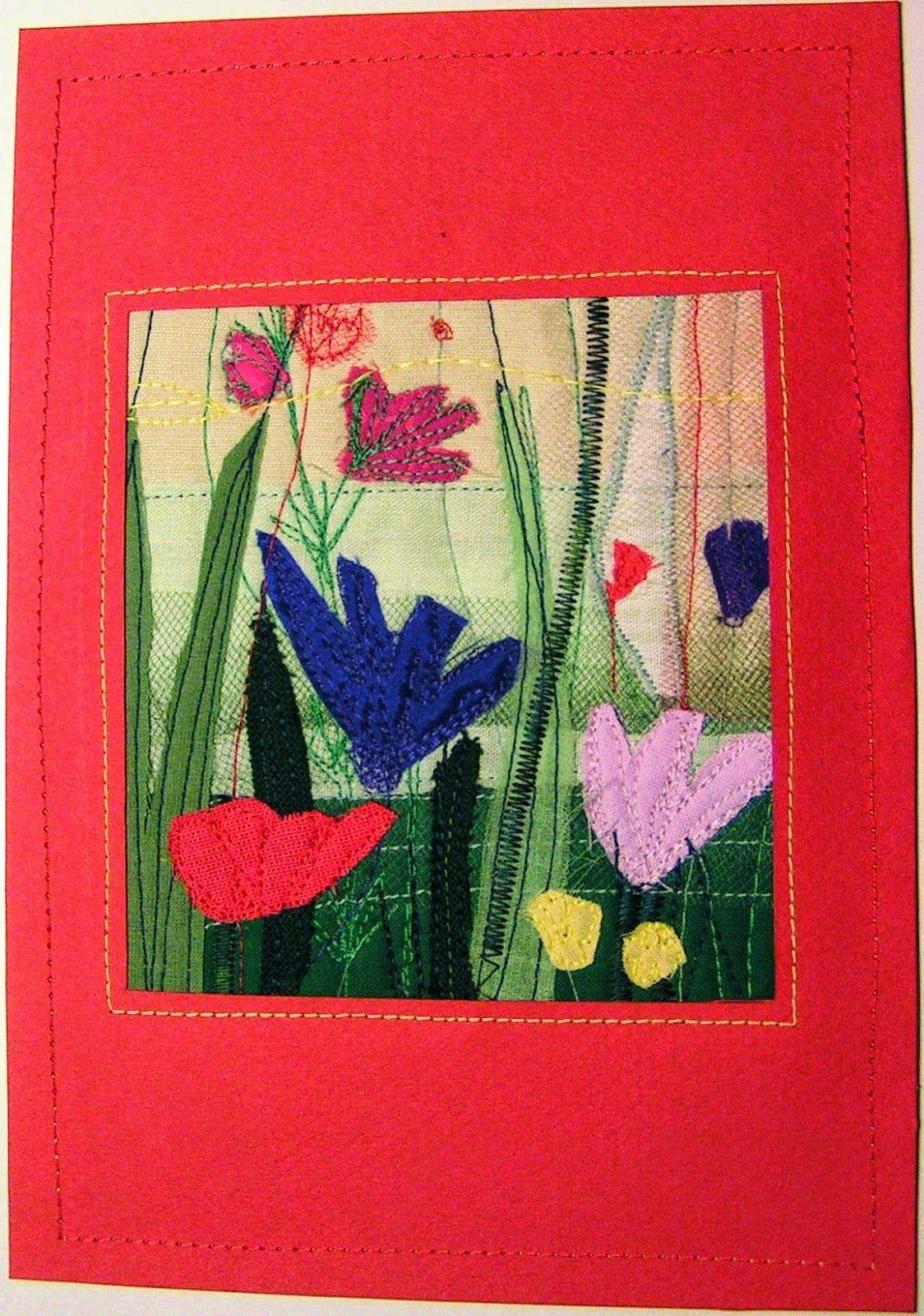 mini quilt by Anna Sławińska