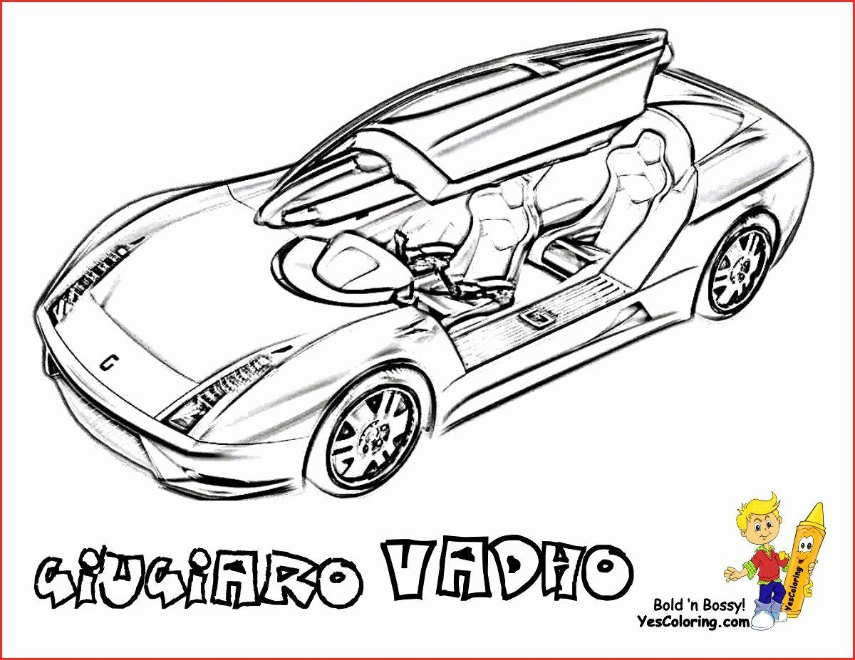 Sport Car Coloring Pages Printable Inspirational Sports Cars Coloring Pages Elegant Lamborghi In 2020 Cars Coloring Pages Sports Coloring Pages Race Car Coloring Pages