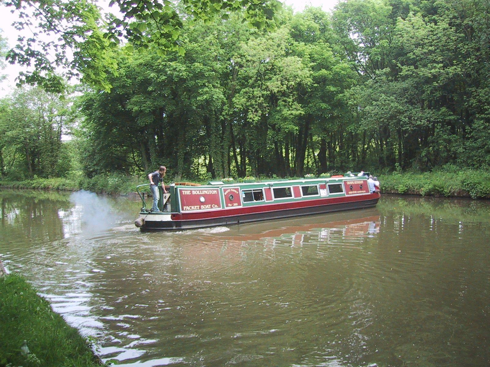 Turning barge