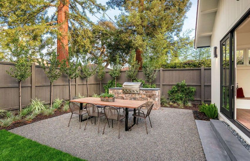 49 Best Gravel Patio Ideas Diy Design Pictures Small Backyard