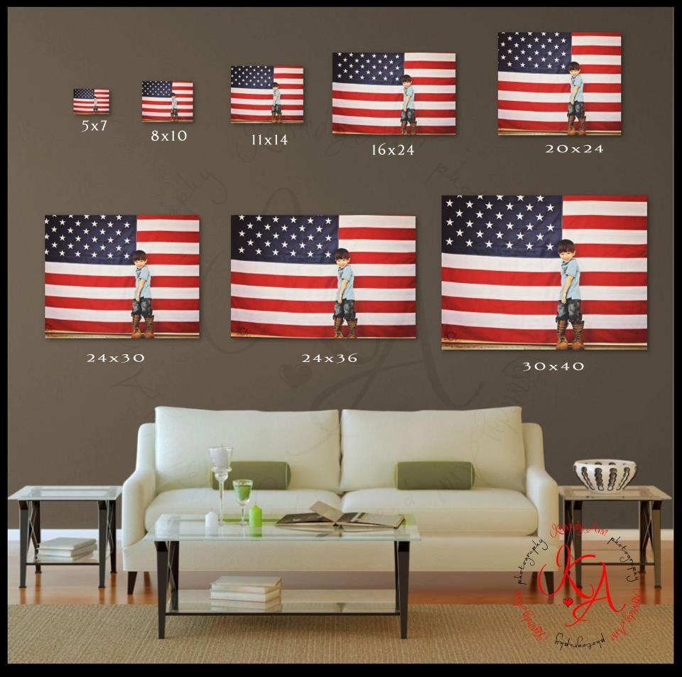Print Size Comparison Custom Wall Art Gallery Wall Inspiration Photography