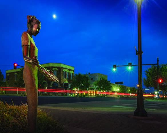 Downtown edmond art edmond at dusk pinterest downtown edmond art edmond oklahomadusk sciox Gallery