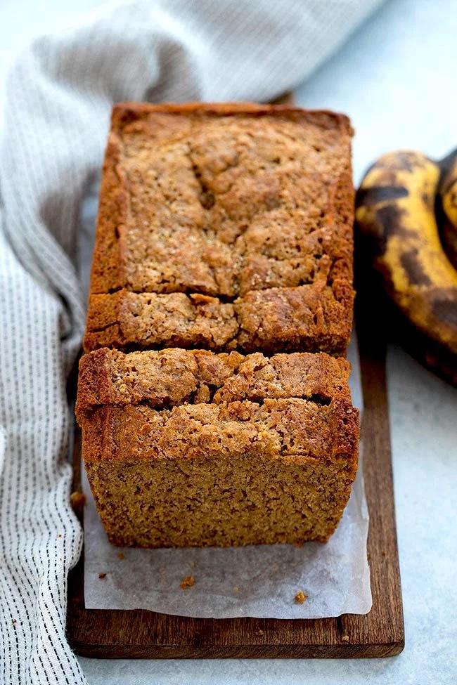 This Healthy Banana Bread Recipe Is Made With Whole Wheat Flour Bananas Coconut Oil Banana Bread Recipes Healthy Banana Bread Delicious Banana Bread Recipe