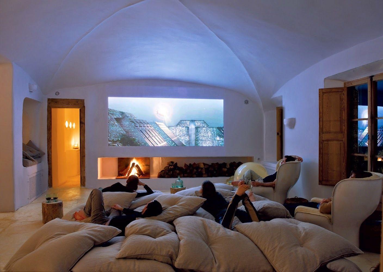 Room Informal Cozy Tv Room Majorca Home Theater Rooms Home