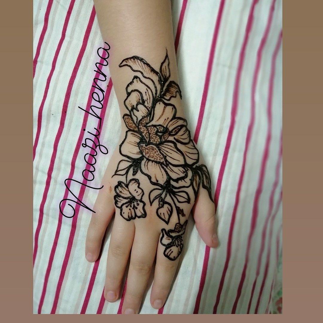 follow naazi_henna Henna, Hand henna, Mehndi designs