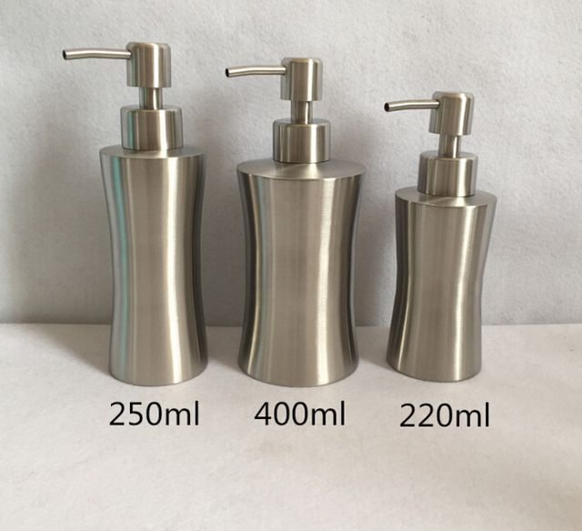 Delicated Hand Sanitizer Bottle Pure Hand Stainless Steel Liquid