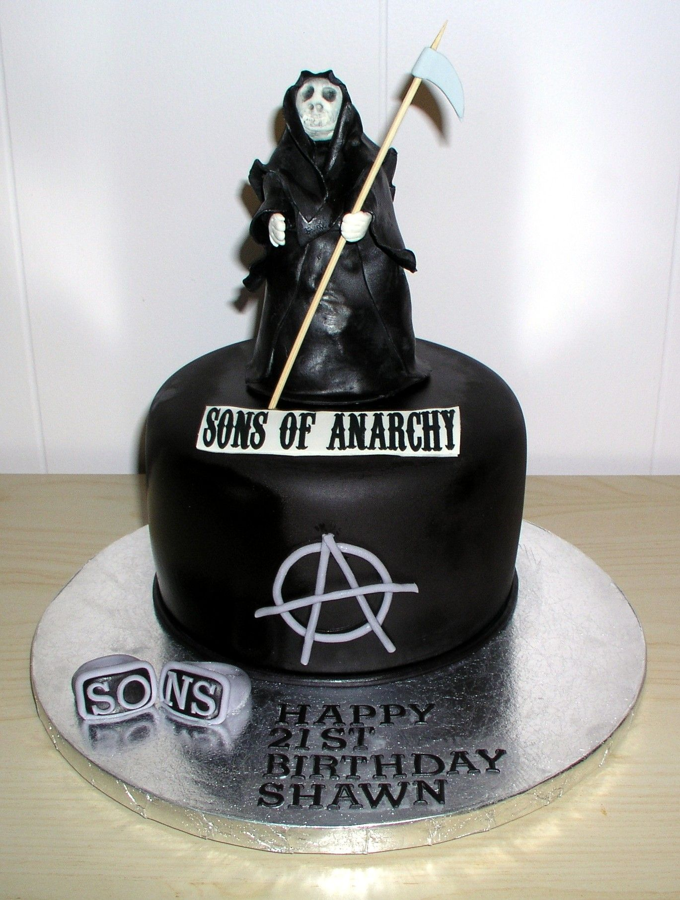 Sons of Anarchy Cake Cake Dreams & Cookie Wishes