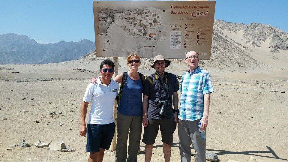 Exploring Caral, the most ancient civilization of the American Continent.