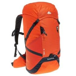 579388837a Forclaz 40 Air Hiking Backpack - Red Black -