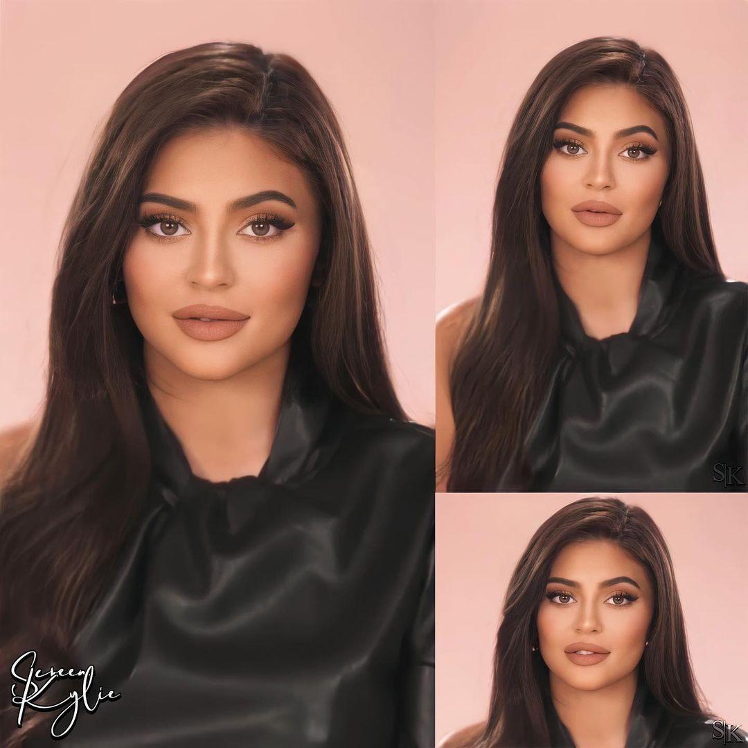 Kylie Jenner Edits On Instagram Her Brunette Era Kyliejenner Kyliejenner In 2021 Kylie Jenner Hair Kylie Kardashian Kylie Jenner Style