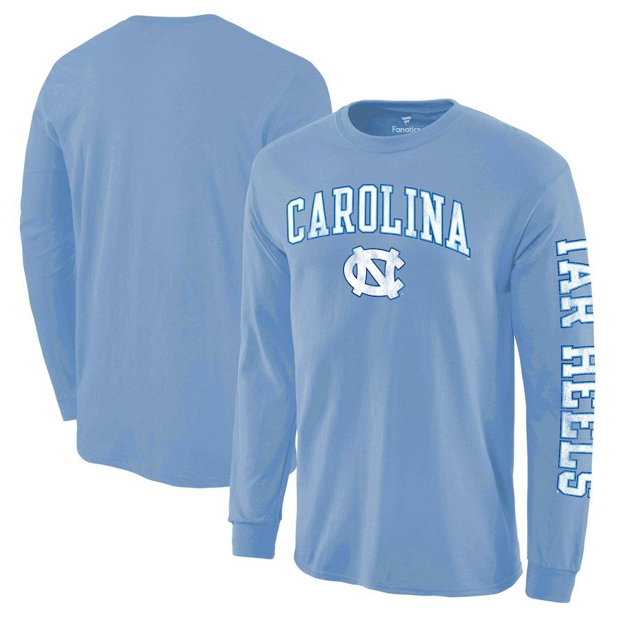 big sale e1813 6a917 North Carolina Tar Heels Fanatics Branded Distressed Arch Over Logo ...