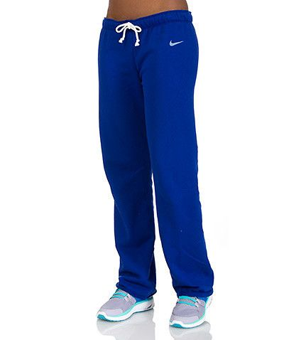 NIKE WOMENS SOLID COLOR SWEAT PANT Royal or black
