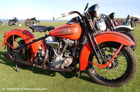 1937 Harley Davidson El 1000 Knucklehead Harley Davidson Model