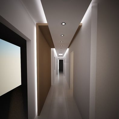 Modern Hall Design Ideas, Pictures, Remodel and Decor | Ceiling ...