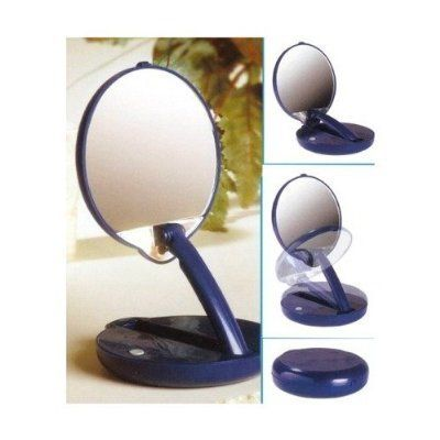 15x Lighted Cobalt Magnifying Persona Compact Light Compact Mirror Mirror