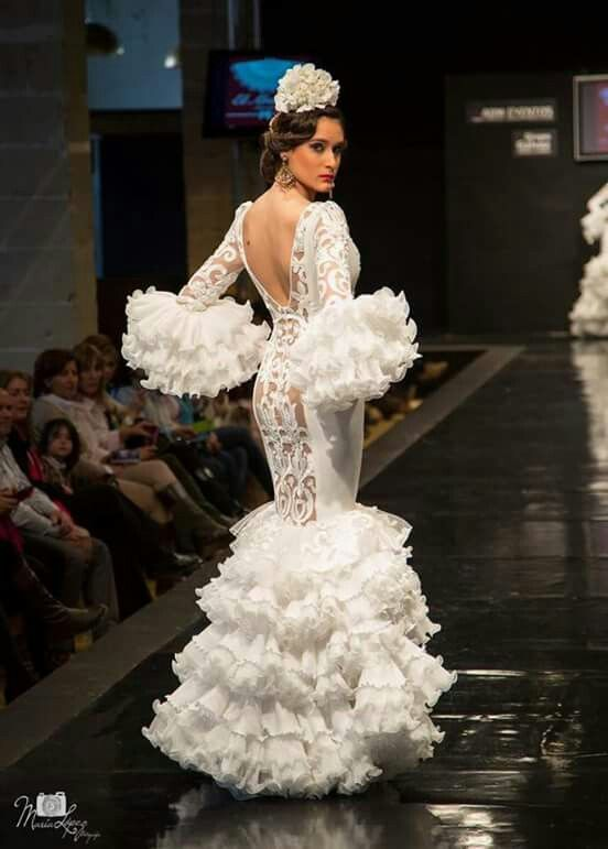 Gitane, Robes De Flamenco, Mariage Espagnol, Phoenicopterus, Frou Frou,  Rouge Noir Blanc, Tango, Gitan, Ruffles