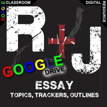 Romeo And Juliet Essay Prompts And Speech W Rubrics Created For  Romeo And Juliet Essay Topics Will Get Learners Engaging With Meaningful  Topics The Play Raisesincluded Essay Topic Handout Essay Guided  Outline