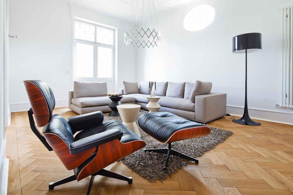 Classic Lounge Chair Ottoman Black Luxury Chairs Chair