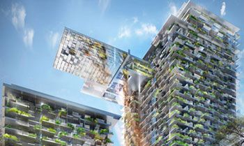 Futurewatch Heliostats On Buildings Solar Feeds Jean Nouvel Central Park Parks In Sydney