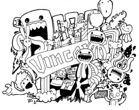 Doodle para Mi Dibujo para colorear. Categorías: Arte Doodle ...